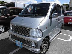 沖縄の中古車 ダイハツ アトレーワゴン 車両価格 15万円 リ済込 平成15年 15.6万K シルバーM