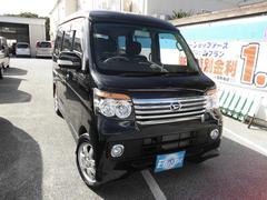 沖縄の中古車 ダイハツ アトレーワゴン 車両価格 95万円 リ済込 平成24年 2.9万K ブラックM