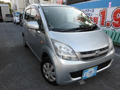 沖縄の中古車 ダイハツ ムーヴ 車両価格 8万円 リ済込 平成19年 9.9万K シルバーM