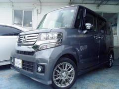 沖縄の中古車 ホンダ N BOXカスタム 車両価格 89万円 リ済別 平成24年 6.9万K ガンM
