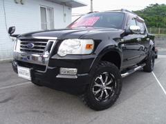沖縄の中古車 フォード フォード エクスプローラースポーツトラック 車両価格 209万円 リ済別 2007年 11.8万K ブラック