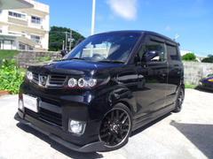 沖縄の中古車 ホンダ ゼストスパーク 車両価格 59万円 リ済別 平成22年 9.3万K ブラック