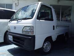 沖縄の中古車 ホンダ アクティトラック 車両価格 25万円 リ済別 平成9年 8.6万K ホワイト