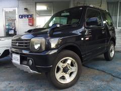 沖縄の中古車 スズキ ジムニー 車両価格 59万円 リ済込 平成14年 11.2万K ブラック