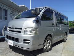 沖縄の中古車 トヨタ ハイエースワゴン 車両価格 139万円 リ済別 平成19年 10.6万K シルバー