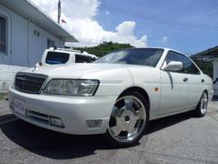 沖縄の中古車 日産 ローレル 車両価格 16万円 リ済別 平成14年 11.4万K ホワイト