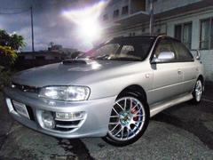沖縄の中古車 スバル インプレッサ 車両価格 75万円 リ済別 平成8年 6.9万K シルバー