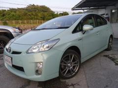 沖縄の中古車 トヨタ プリウス 車両価格 95万円 リ済別 平成22年 10.2万K Lグリーン