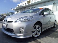 沖縄の中古車 トヨタ プリウス 車両価格 115万円 リ済別 平成22年 5.6万K シルバー