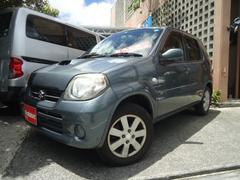 沖縄の中古車 スズキ Kei 車両価格 19万円 リ済別 平成20年 10.5万K ガンM