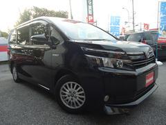 沖縄の中古車 トヨタ ヴォクシー 車両価格 248万円 リ済別 平成26年 3.9万K ブラック
