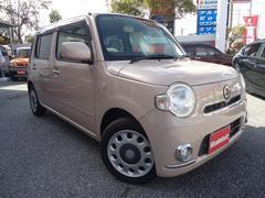 沖縄の中古車 ダイハツ ミラココア 車両価格 49万円 リ済別 平成23年 5.3万K ピンク