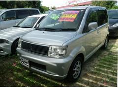 沖縄の中古車 三菱 eKワゴン 車両価格 19万円 リ済込 平成16年 14.8万K シルバー