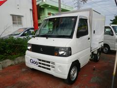 沖縄の中古車 三菱 ミニキャブトラック 車両価格 62万円 リ済込 平成18年 11.7万K ホワイト