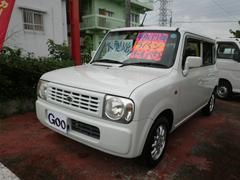 沖縄の中古車 スズキ アルトラパン 車両価格 38万円 リ済込 平成19年 9.0万K パールホワイト