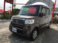 沖縄の中古車 ホンダ N BOX 車両価格 99万円 リ済込 平成24年 2.1万K ブラウン