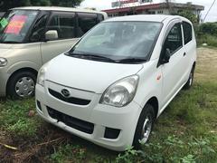 沖縄の中古車 ダイハツ ミラ 車両価格 19万円 リ済込 平成21年 8.7万K ホワイト