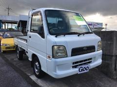 沖縄の中古車 スバル サンバートラック 車両価格 29万円 リ済別 平成16年 26.5万K 白