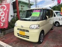 沖縄の中古車 ダイハツ タント 車両価格 57万円 リ済込 平成23年 9.1万K アイボリー