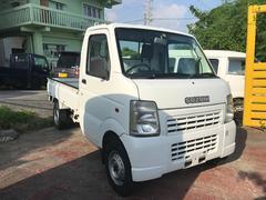 沖縄の中古車 スズキ キャリイトラック 車両価格 39万円 リ済込 平成17年 8.7万K ホワイト