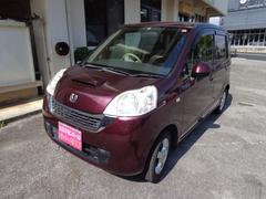 沖縄の中古車 ホンダ ライフ 車両価格 49万円 リ済込 平成21年 8.8万K パープル