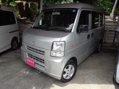 沖縄の中古車 マツダ スクラム 車両価格 45万円 リ済込 平成20年 9.8万K シルバー