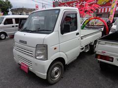 沖縄の中古車 スズキ キャリイトラック 車両価格 48万円 リ済込 平成18年 13.9万K ホワイト