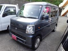 沖縄の中古車 スズキ エブリイワゴン 車両価格 45万円 リ済込 平成18年 9.8万K グレー