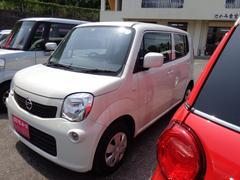 沖縄の中古車 日産 モコ 車両価格 39万円 リ済込 平成23年 11.3万K パールホワイト