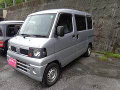 沖縄の中古車 日産 クリッパーバン 車両価格 45万円 リ済込 平成22年 10.3万K シルバー