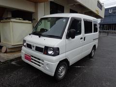 沖縄の中古車 日産 クリッパーバン 車両価格 38万円 リ済込 平成23年 9.0万K ホワイト