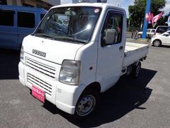 沖縄の中古車 スズキ キャリイトラック 車両価格 48万円 リ済込 平成17年 11.5万K ホワイト
