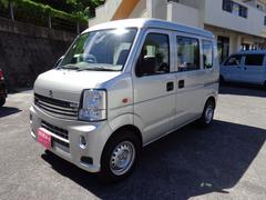 沖縄の中古車 スズキ エブリイ 車両価格 45万円 リ済込 平成20年 10.5万K シルバー