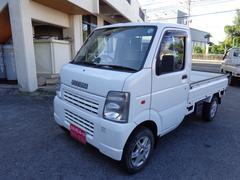 沖縄の中古車 スズキ キャリイトラック 車両価格 48万円 リ済込 平成18年 12.8万K ホワイト