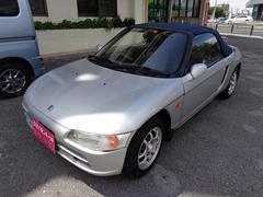 沖縄の中古車 ホンダ ビート 車両価格 45万円 リ済込 平成3年 8.7万K シルバー
