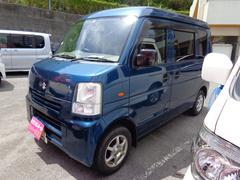 沖縄の中古車 スズキ エブリイ 車両価格 45万円 リ済込 平成18年 8.1万K ブルーM