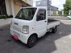 沖縄の中古車 スズキ キャリイトラック 車両価格 48万円 リ済込 平成18年 10.3万K ホワイト