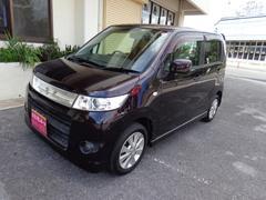 沖縄の中古車 スズキ ワゴンRスティングレー 車両価格 48万円 リ済込 平成20年 7.3万K パープル