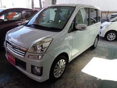 沖縄の中古車 スバル ステラ 車両価格 35万円 リ済込 平成19年 7.2万K パールホワイト