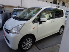 沖縄の中古車 ダイハツ ムーヴ 車両価格 48万円 リ済込 平成23年 7.8万K ホワイト