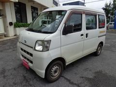 沖縄の中古車 ダイハツ ハイゼットカーゴ 車両価格 39万円 リ済込 平成19年 7.6万K ホワイト