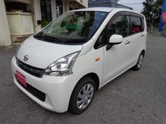 沖縄の中古車 ダイハツ ムーヴ 車両価格 48万円 リ済込 平成24年 5.7万K ホワイト