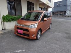 沖縄の中古車 ダイハツ ムーヴ 車両価格 48万円 リ済込 平成23年 6.9万K オレンジ