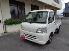 沖縄の中古車 ダイハツ ハイゼットトラック 車両価格 45万円 リ済込 平成17年 8.4万K ホワイト