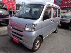沖縄の中古車 ダイハツ ハイゼットカーゴ 車両価格 43万円 リ済込 平成21年 8.5万K シルバー
