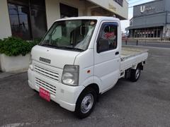 沖縄の中古車 スズキ キャリイトラック 車両価格 45万円 リ済込 平成19年 10.5万K ホワイト