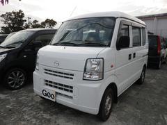 沖縄の中古車 マツダ スクラム 車両価格 28万円 リ済込 平成20年 13.8万K ホワイト