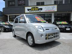 沖縄の中古車 日産 ピノ 車両価格 19万円 リ済込 平成21年 13.0万K シルバーM