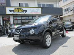 沖縄の中古車 日産 ジューク 車両価格 89万円 リ済別 平成23年 7.3万K ブラック