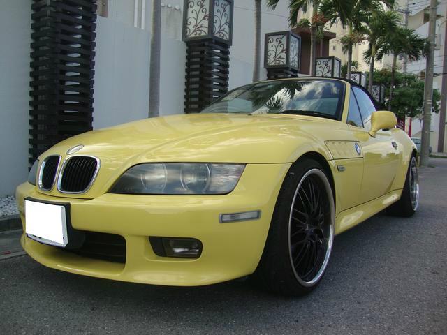 BMW Z3ロードスター スペシャルエディション 社外18インチア...